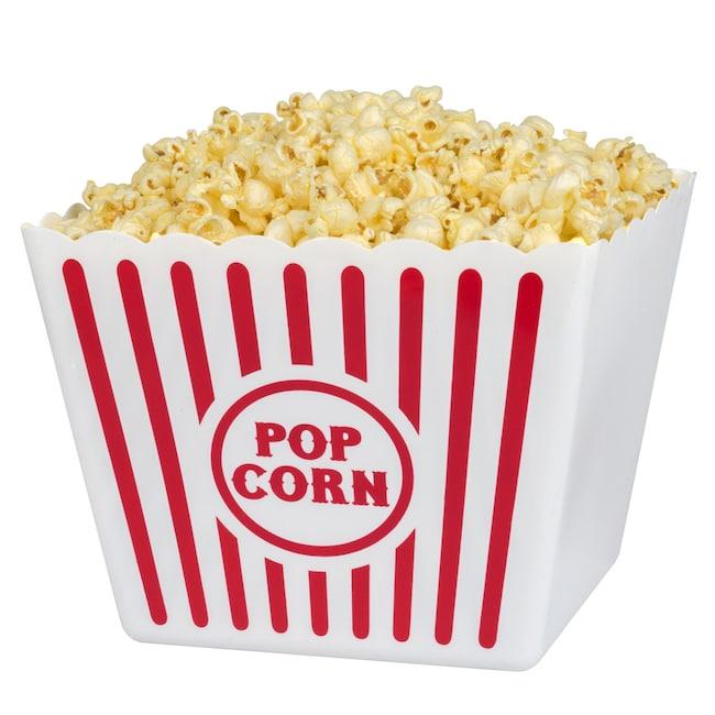 Bulk Large Plastic Popcorn Tubs 8 75 In Wide Dollar Tree