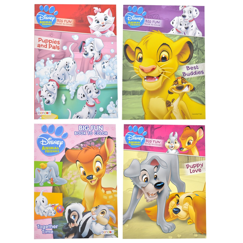 Display Product Reviews For Disney Friends Big Fun Books To Color 96 Pages
