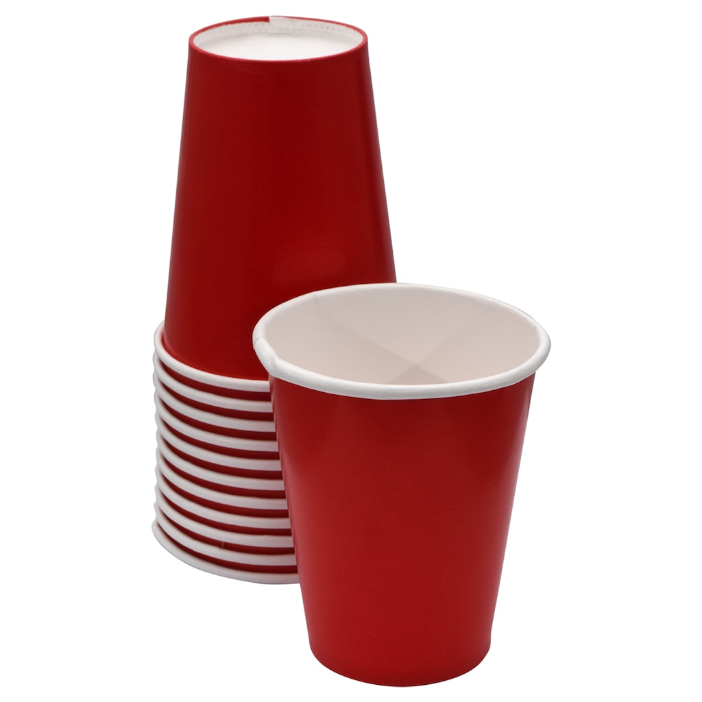 81b95c99c9d Red 9-oz. Paper Party Cups, 12-ct. Packs
