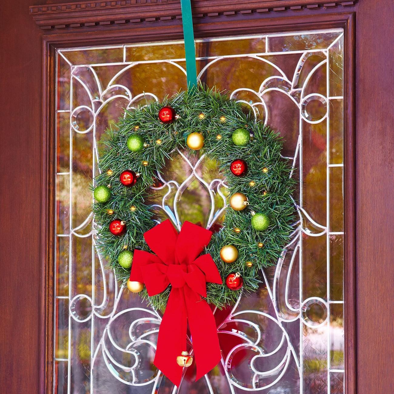 christmas craft idea garland ornament wreath
