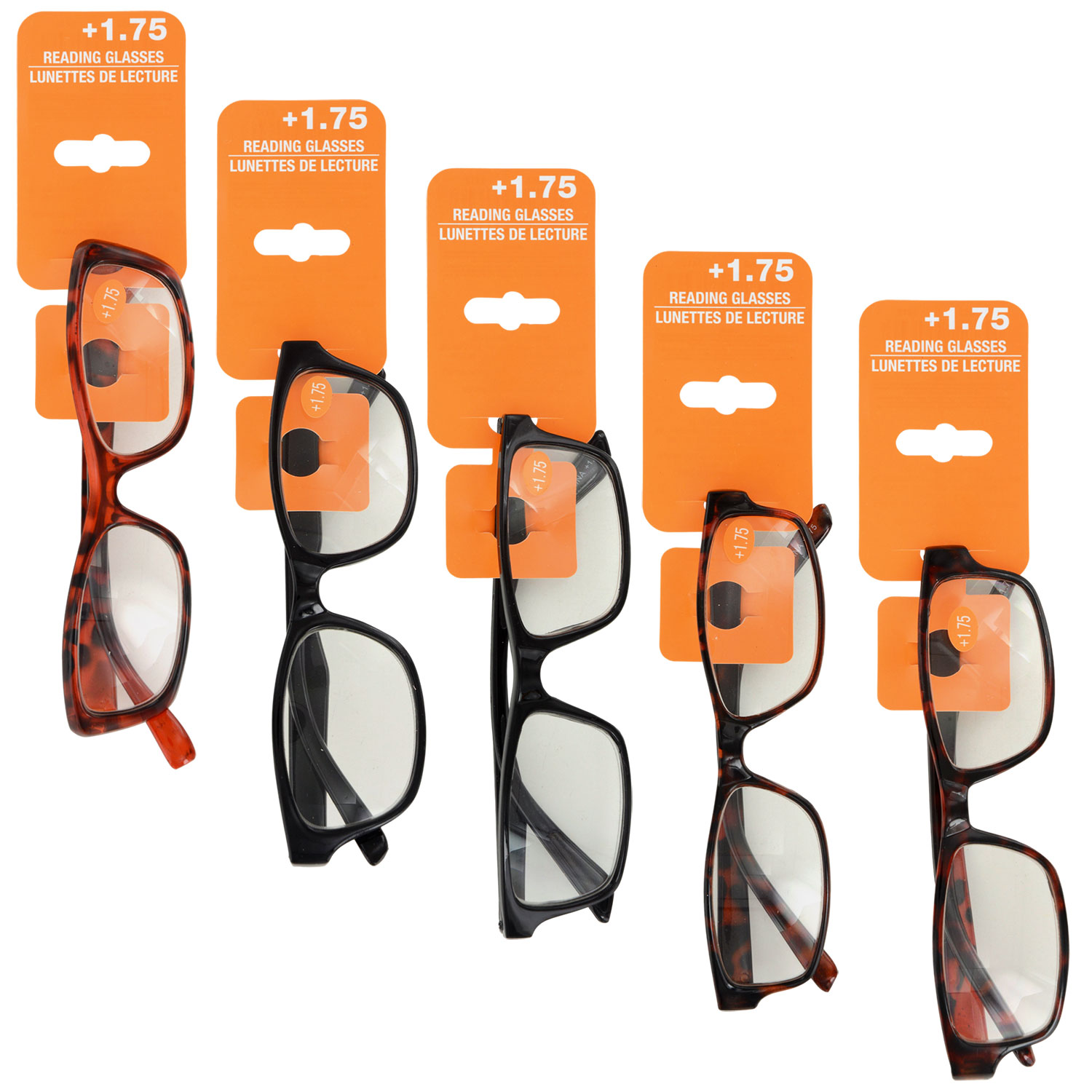 b0d6d7124192 Fashion Reading Glasses with +1.75 Diopters