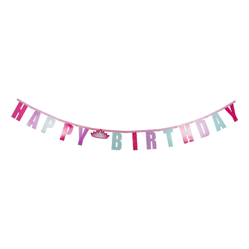 Display Product Reviews For Princess Happy Birthday Letter Banner