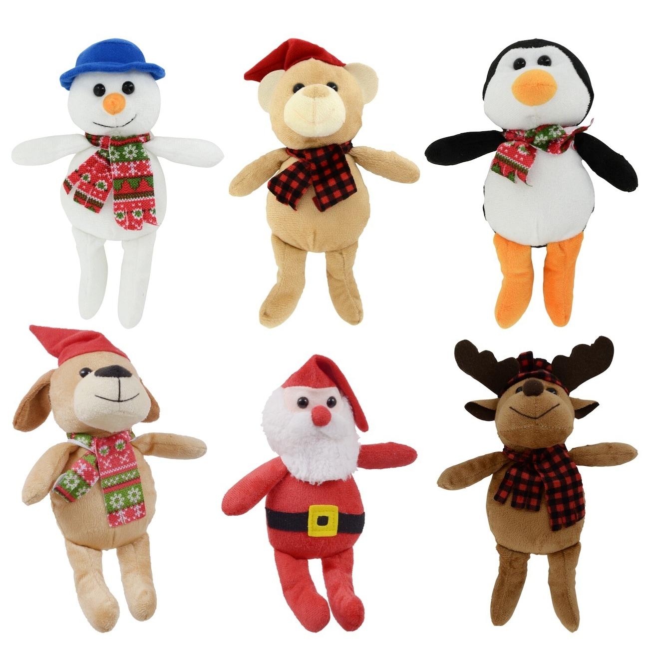 christmas house plush christmas friends 85 in - Christmas Plush Toys