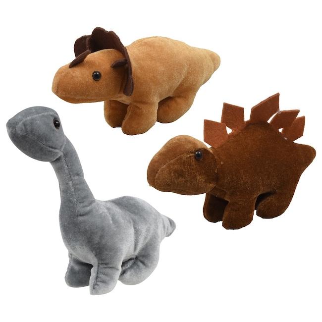 Fuzzy Friends Children's Plush Dinosaurs