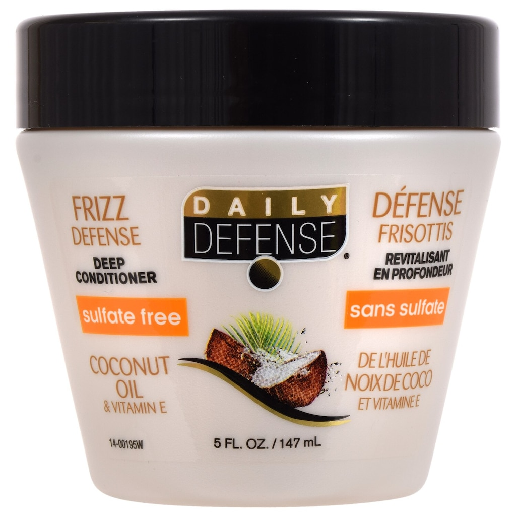 Daily Defense Coconut Oil Conditioner, 5 oz  Containers