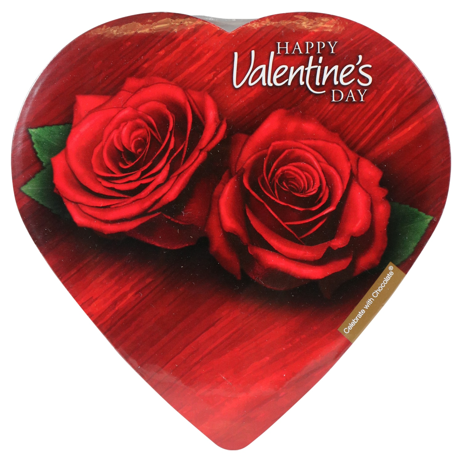 Celebrate With Chocolate Heart Shaped Assorted Chocolates 2 Oz Boxes