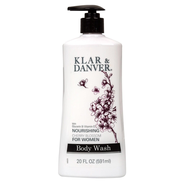 Klar Danver Cherry Blossom Body Wash For Women  Oz Bottles