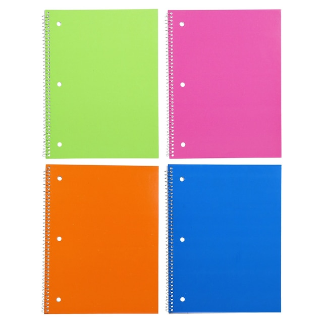 Dollartree Com Bulk Neon Covered Spiral Notebooks 60 Pages