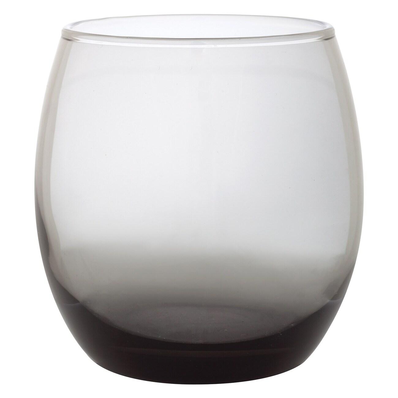 Epure Mikonos Smokey Stemless Wine Gles 11 5 Oz