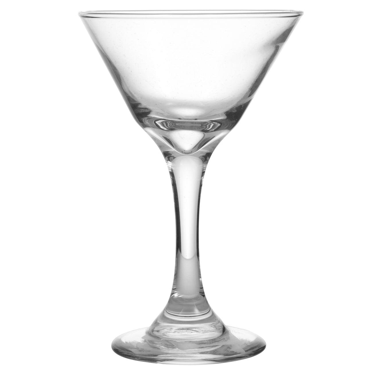 Oliver Glass Martini Glasses 75 Oz