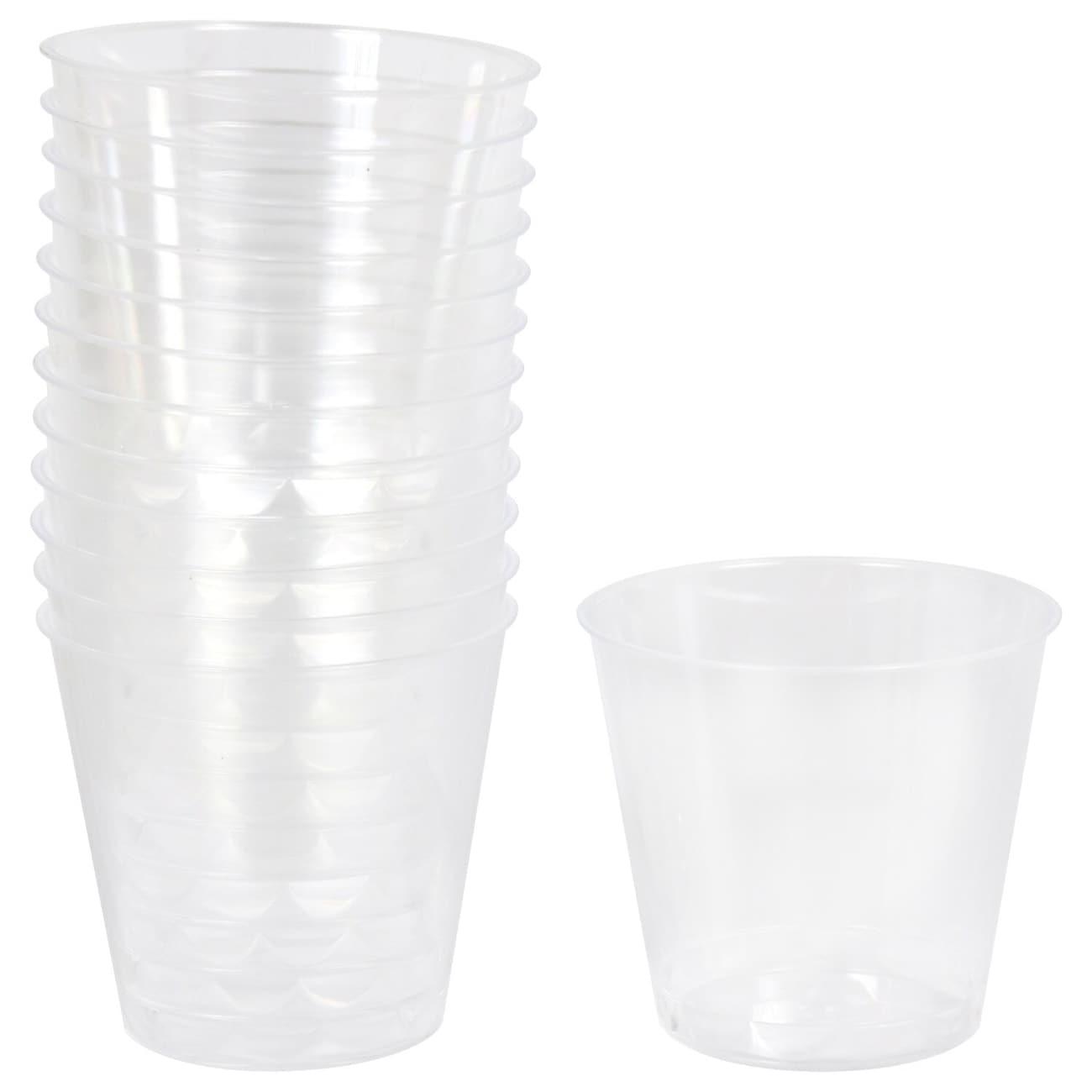 5565d1735b9 Clear Plastic 1-fl.oz. Shot Glasses, 24-ct. Packs