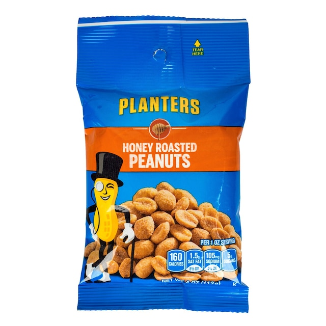 Christmas Planters Peanuts.Planters Honey Roasted Peanuts 4 Oz Packs