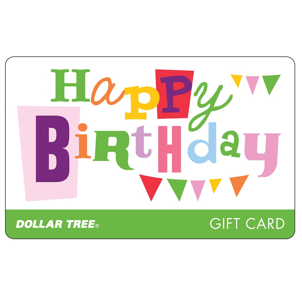 gift card happy bday 2017 - Birthday Gift Card