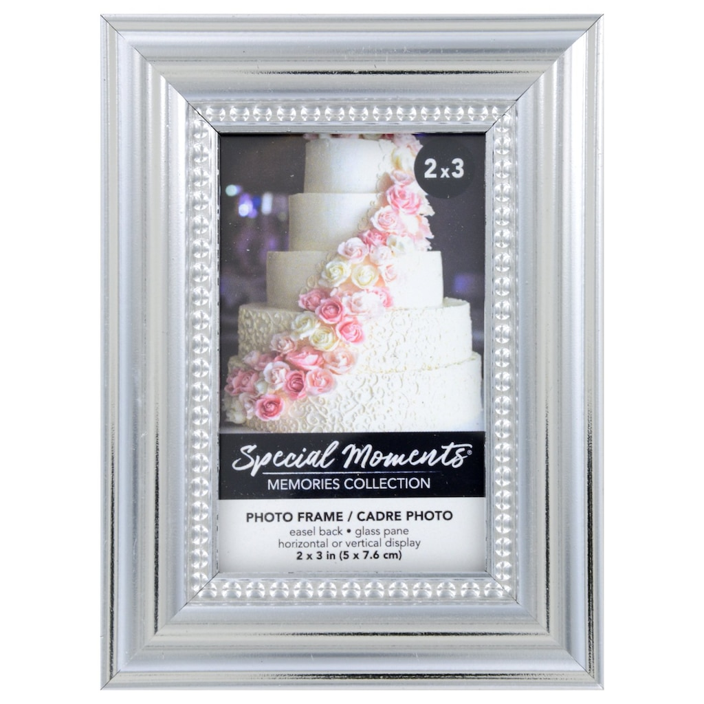 968c1d109487 Special Moments Silver Layered Picture Frames