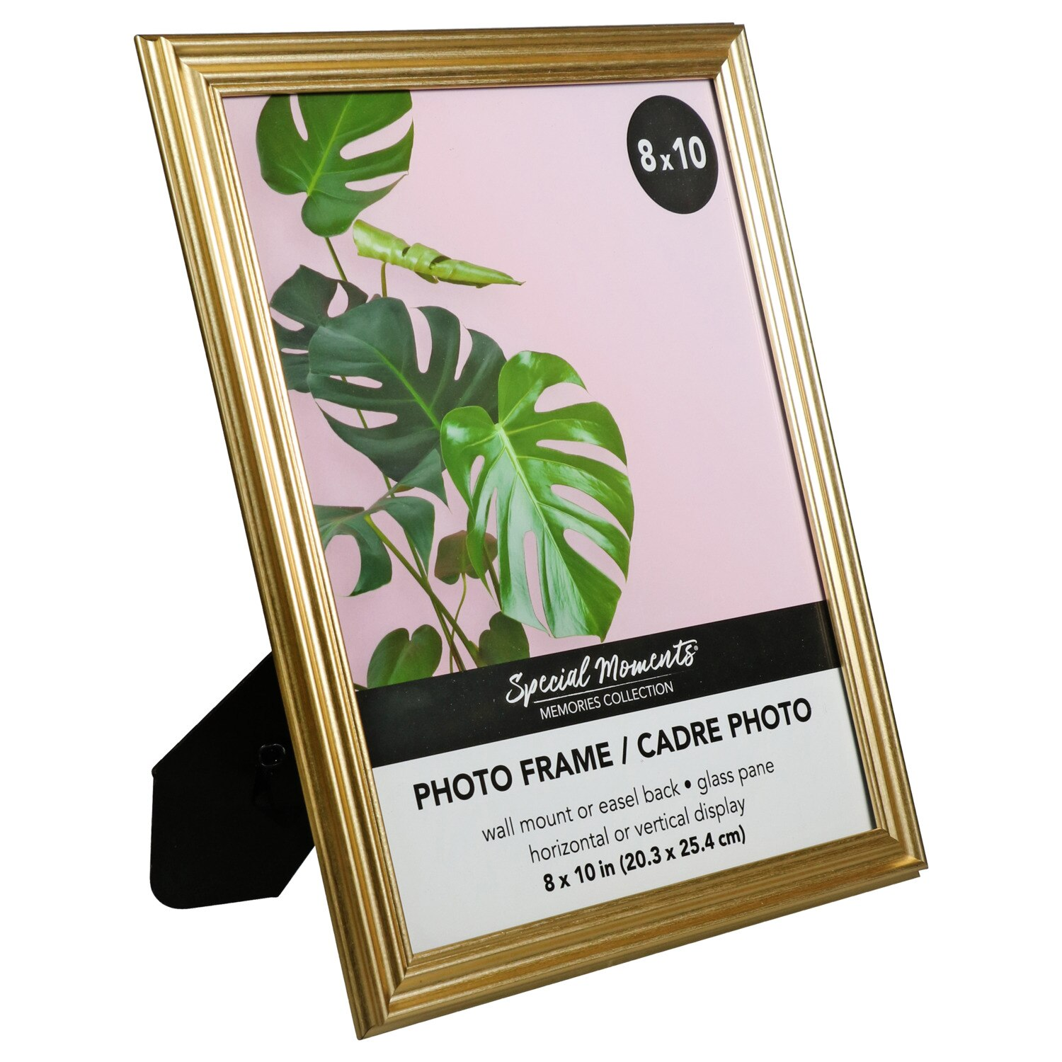 7372775dda76 Special Moments Grooved Inner-Edge Gold Plastic Photo Frames