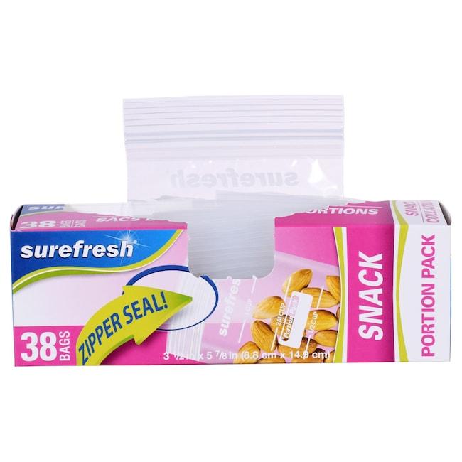 Sure Fresh Measured Snack Bags 40 Ct