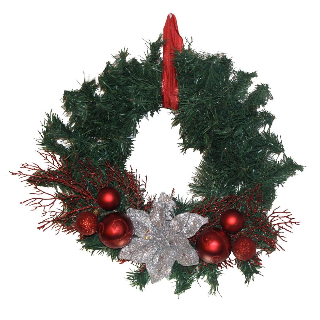Christmas Craft Idea: Contemporary Wreath