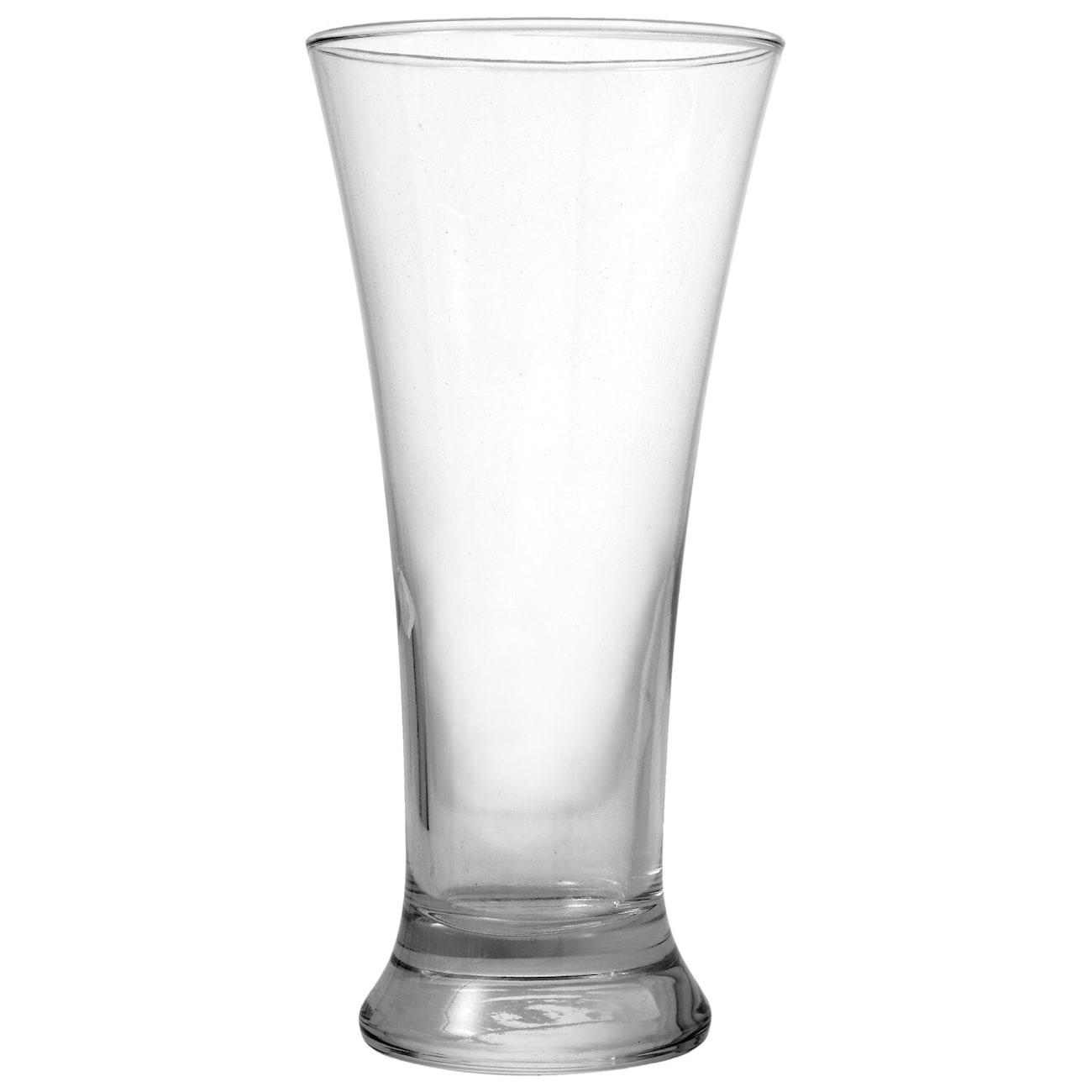 Flared Glass Pilsner Glasses, 19.25 oz.