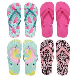 3350b904464 View Girls  Summertime Fashion Rubber Flip-Flops