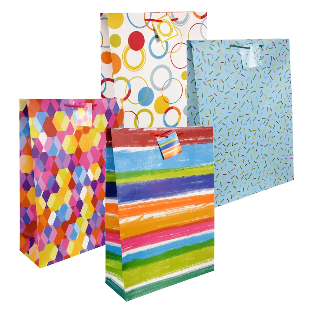 Display Product Reviews For Voila All Occasion Extra Large Colorful Gift Bags