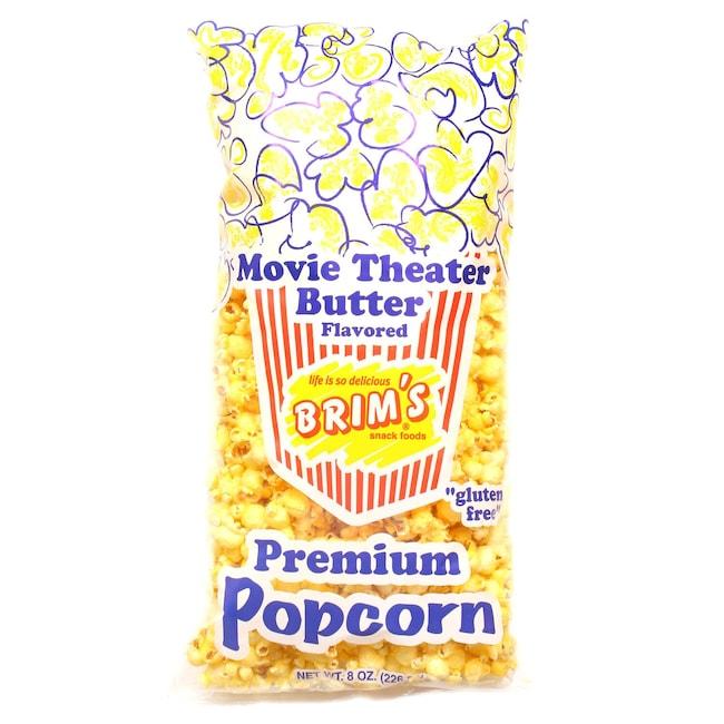 Brim S Er Flavored Popcorn 8 Oz Bags