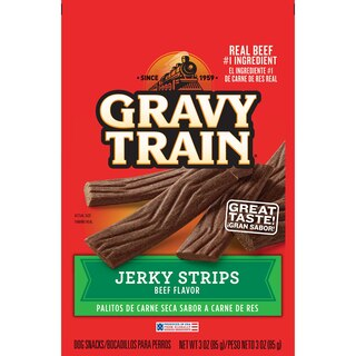View Gravy Train Beef Flavored Y Strips