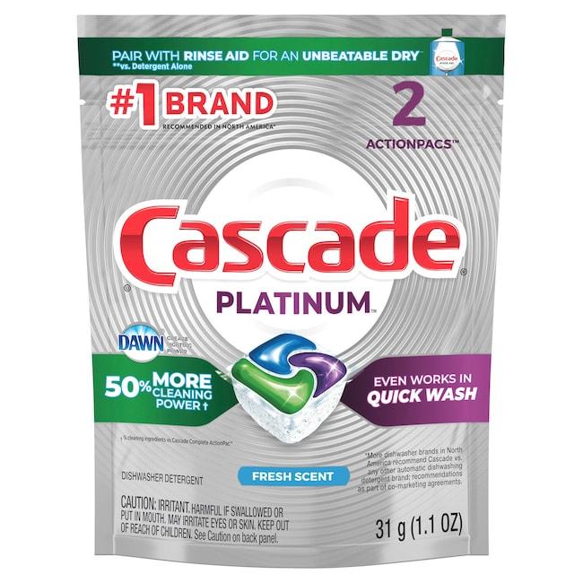 View Cascade Fresh Scent Dishwasher Detergent