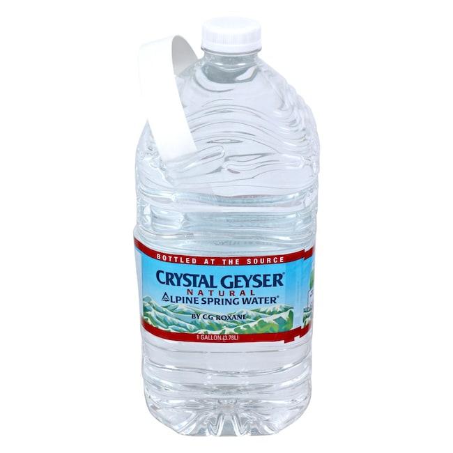 Crystal Geyser Natural Alpine Spring Water, 1-Gallon Jugs