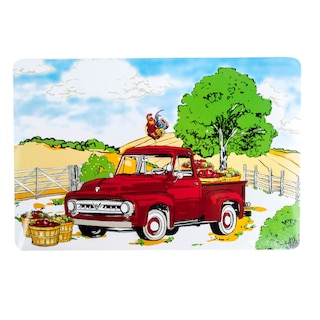 Vintage Red Truck Christmas Placemats.Dollartree Com Bulk Placemats