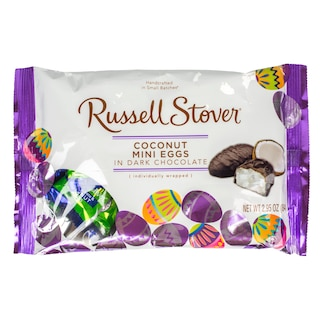 Russell Stover Dark Chocolate & Coconut Mini Eggs, 2.95 oz. Product Image