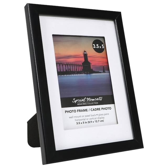 Special Memories Clic Black Plastic Photo Frames 3 5 X On