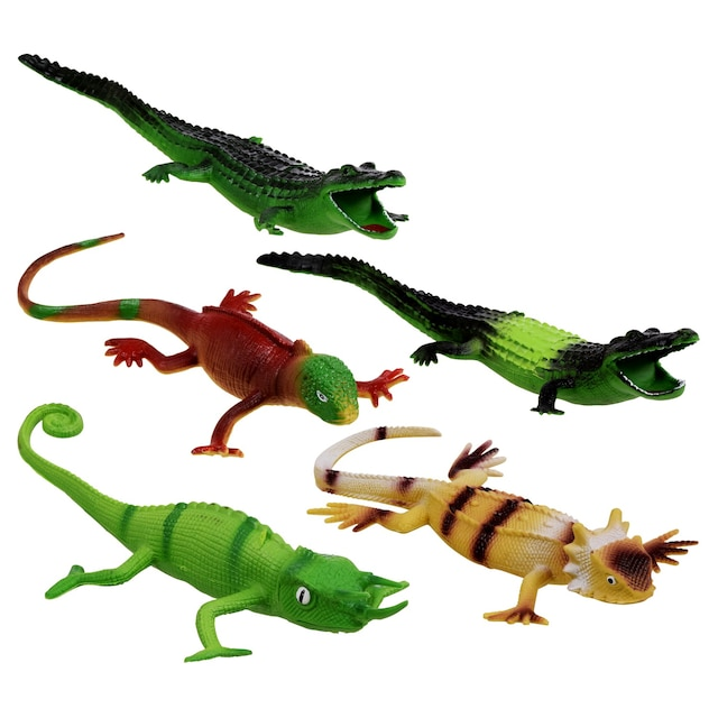 Plastic Toy Reptiles