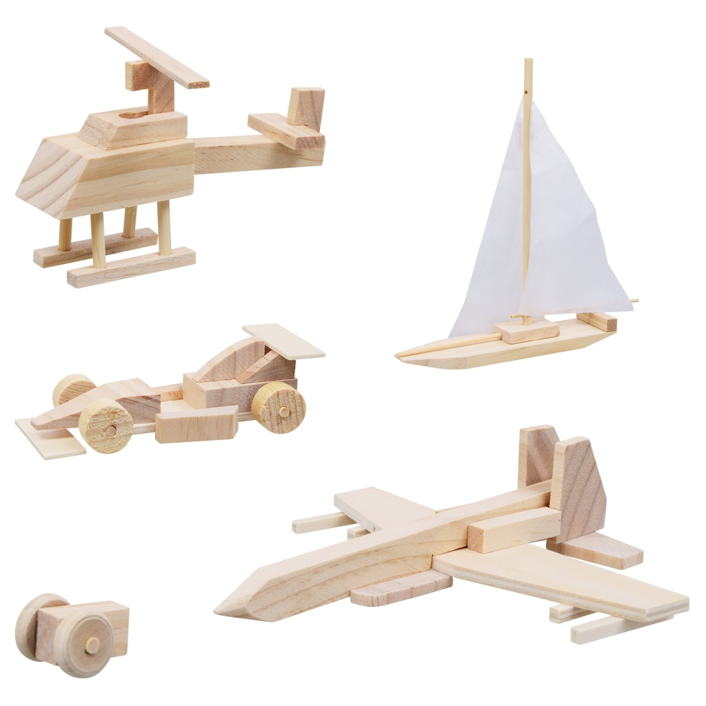 Woodshop Build and Play Project Kits