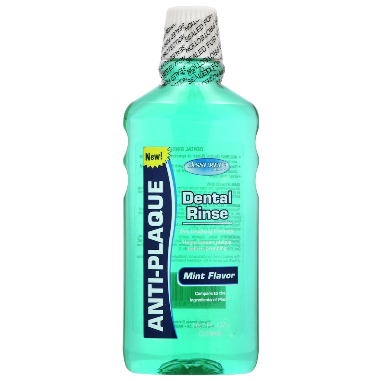 Assured Mouthwash Dollar Tree Inc Listerine Gum Care 500ml Free Pouch Mint Flavor Anti Plaque Dental Rinse 167 Oz Bottles