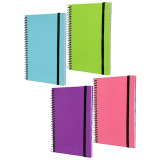 efe0dc9c9cc8 Jot Hard Cover Spiral Notebooks, 80 Pages