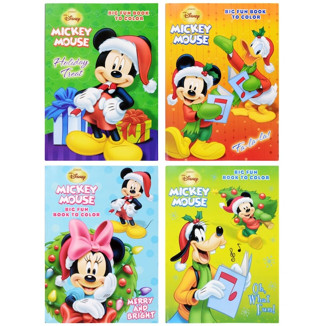 bendon disney christmas coloring books 96 pages