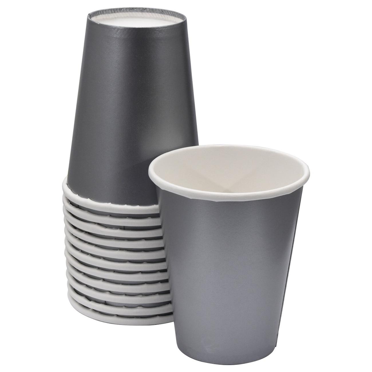 02d01e7f16e Silver Paper Party Cups, 9 oz.