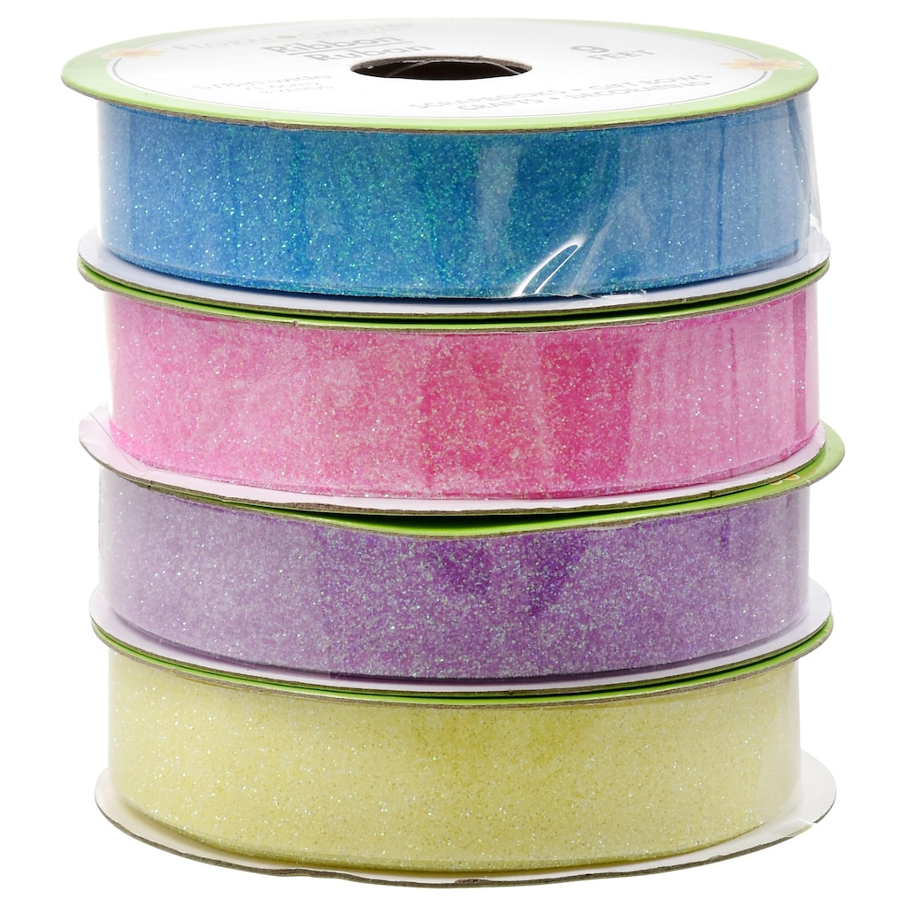 25e7d49978 Floral Garden Glitter Ribbon