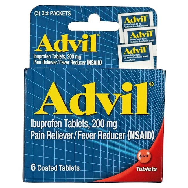 Dollartree Com Bulk Advil Tablets 6 Ct Packs