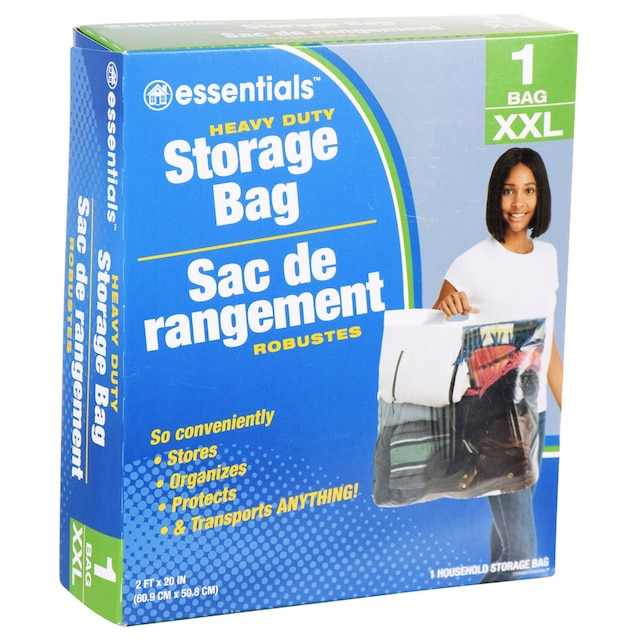 Stor It Large Plastic Storage Bags With Handles