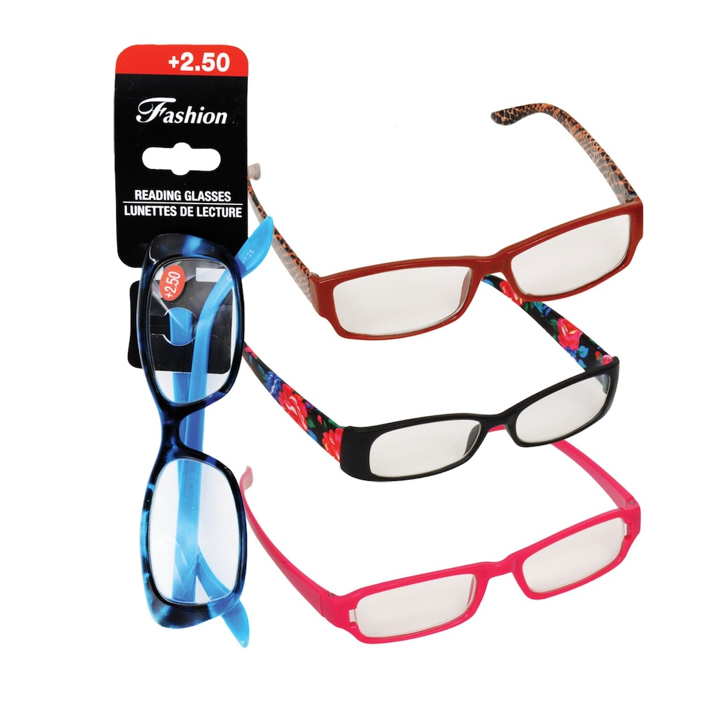 86e91e4722a6 Display product reviews for Stylish Reading Glasses with +2.50 Diopter