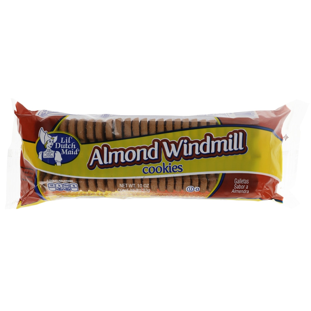 bb048b5ecfc6 Lil' Dutch Maid Almond Windmill Cookies, 10 oz.