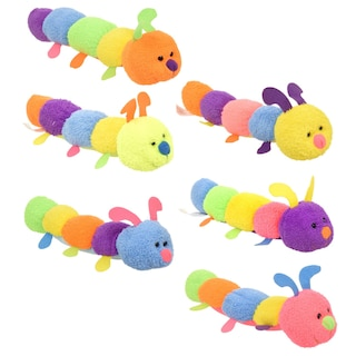 c69869eac8a View Fuzzy Friends Colorful Plush Caterpillars