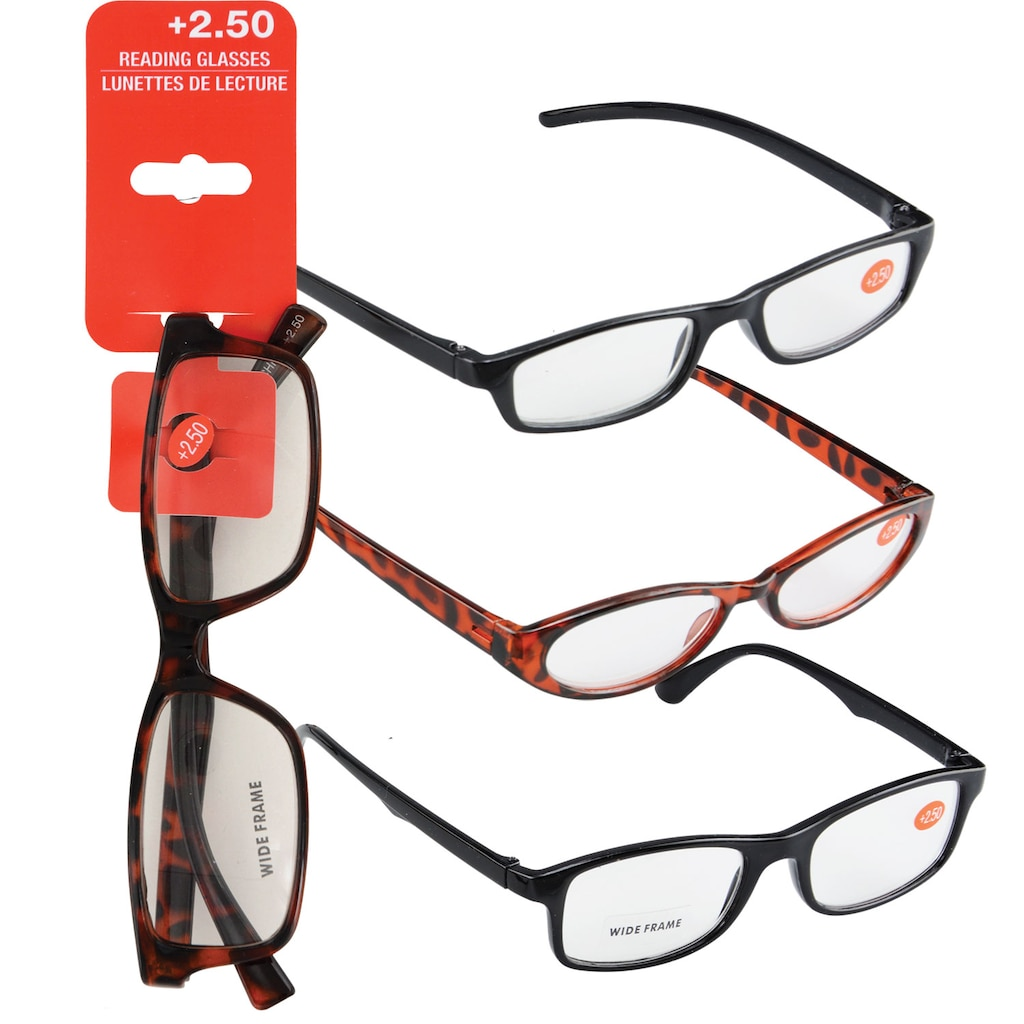 169276441970 Display product reviews for Fashion Reading Glasses with +2.50 Diopters