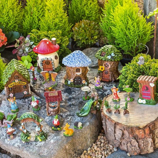 Mini Fairy Gardens, 25-pc  Sets