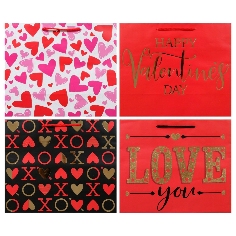 Dollartree Com Bulk Small Horizontal Valentine S Gift Bags