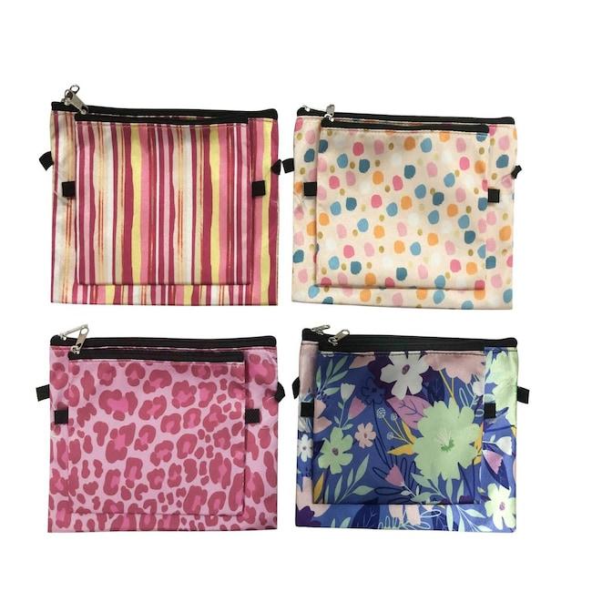 1c84d87efa1b Sassy+Chic Zippered Cosmetic Bags, 2-ct. Packs