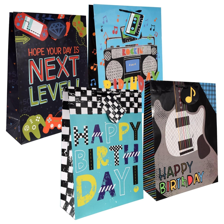Voila Rock Star Birthday Gift Bags