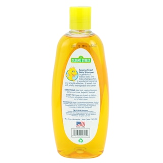 Sesame Street Lightly Scented Baby Shampoo, 10 oz  Bottles