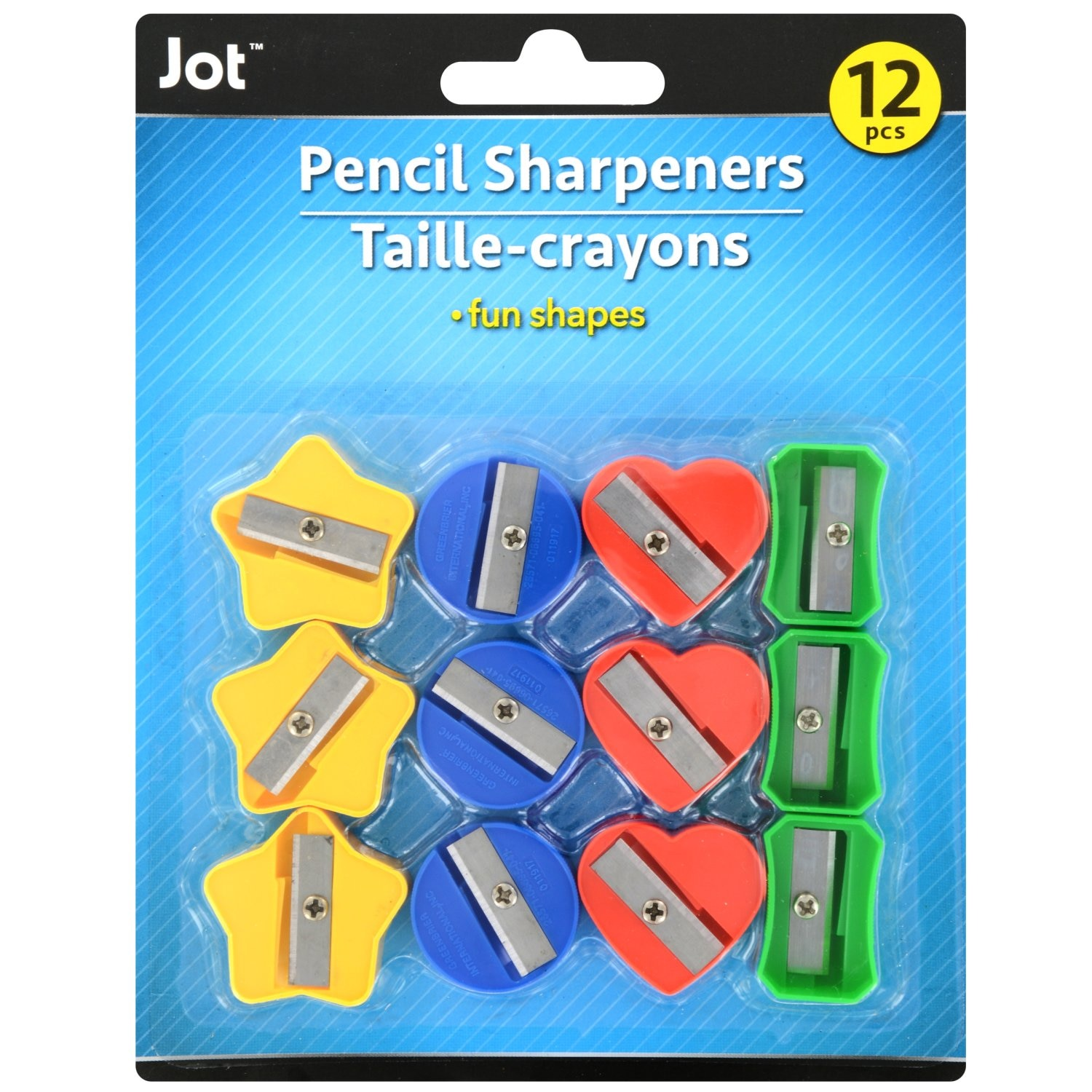 View Jot Fun-Shaped Pencil Sharpeners, 12-ct.